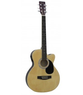 Guitarra electroacústica Daytona A-401CE Natural Brillo