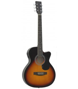 Guitarra Acústica Daytona A-401CE Sombreado Brillo